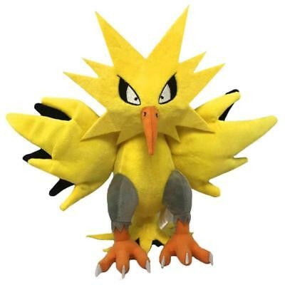 "Pokemon Monster 12"" Zapdos High Quality Kids Animal Plush Doll Toys Figure Gifts"