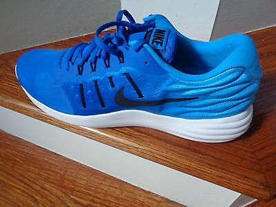 Nike Lunarstelos Men's Running Shoes, 844591 400 Size 14 NEW