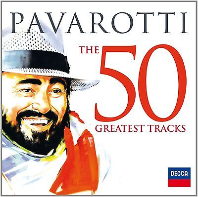 LUCIANO PAVAROTTI: THE 50 GREATEST (HITS) TRACKS 2x CD THE VERY BEST OF NEW