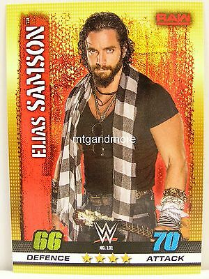 Slam Attax - #101 Elias Samson - 10th Edition
