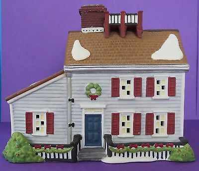 Dept 56 New England Village- Jeremiah Brewster House- #56570 - No Box/No Light