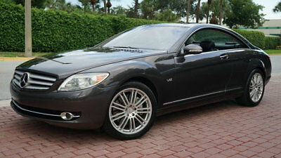 2008 Mercedes-Benz CL-Class CL600 V12 NAV BACKUP CAM NIGHTVISION SUPER RARE!!! UPER LOW RESERVE VERY RARE VERY VERY CLEAN HEATED/AC SEATS LOADED HURRY!!!!!!!!