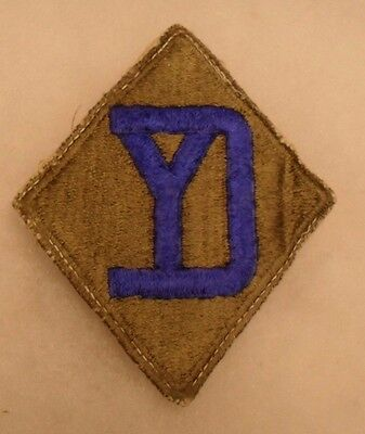 Wwii 26Th Infantry Division Eto Unit This One Off A Shirt White Back