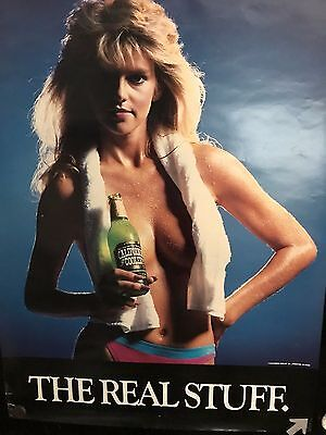 Lot of (2) California Cooler and Tequita Cooler Posters California Beach Blondes