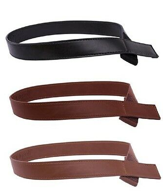 Myself Belts Toddler Easy Fasten Kids Boy/Girl Leather Belt - Newest design
