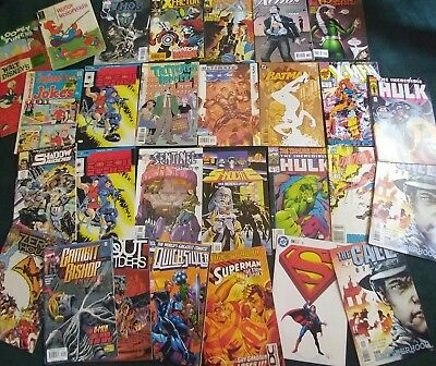 Lot of 29 Various Comic Books