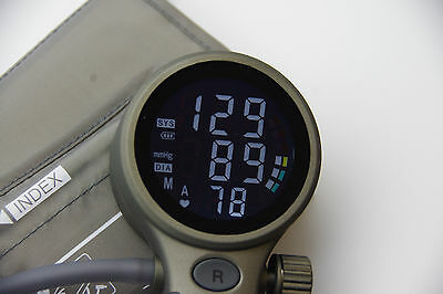 One Hand Digital Arm Blood Pressure Monitor / Li-Ion Battery And Charger