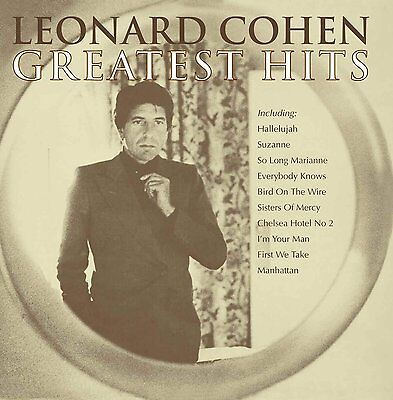 Leonard Cohen: Greatest Hits Cd The Very Best Of / New