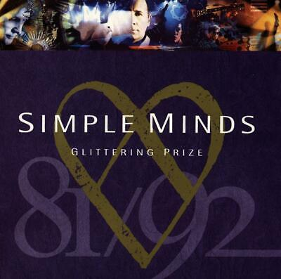 Simple Minds: Glittering Prize 1981-1992 Cd Greatest Hits / The Very Best Of New