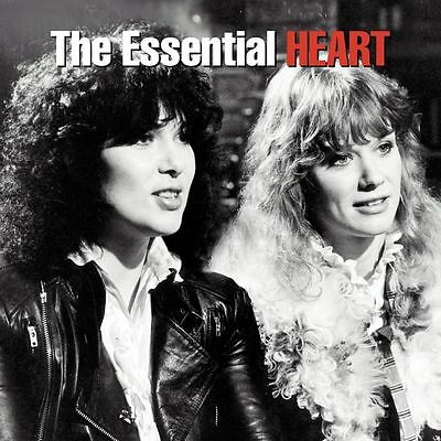 HEART: THE ESSENTIAL 37 TRACK 2x CD GREATEST HITS / THE VERY BEST OF / NEW