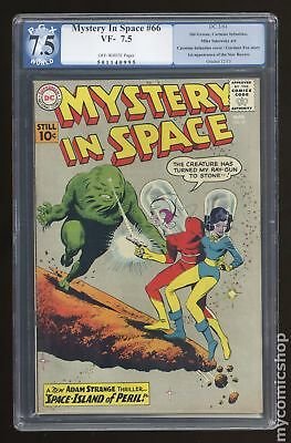 Mystery in Space (1951 1st Series) #66 PGX 7.5