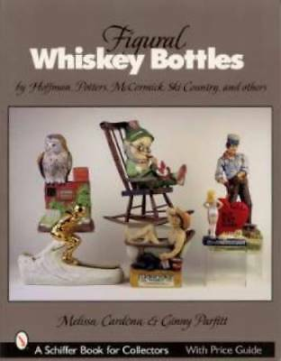 Whiskey Bottles & Decanters Price Guide Ezra Books MORE