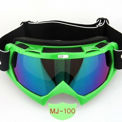 Motocross Motorcycle ATV Dirt Bike Off Road Goggles Glasses Eyewear Colored