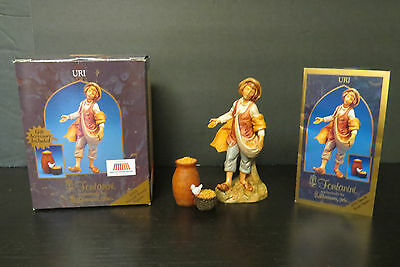 "Vintage Fontanini Heirloom Nativity 5"" Figurine- #65101 - Uri"