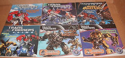 Lot of 6 Transformers 8 x 8 Books Paperback New