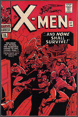 The X-Men Issue Number 17 By Marvel Comics
