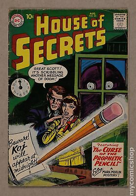 House of Secrets (1956 1st Series) #23 GD/VG 3.0