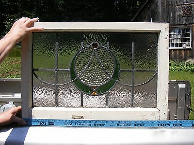 >> Nice Stained Glass Window no cracks , no reserve pickup middlefield ct 06455