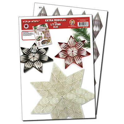 Quilling Template 1/7 Modul Star (ohne Pappe)