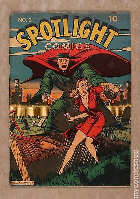 Spotlight Comics (1944) #3 VG- 3.5 RESTORED