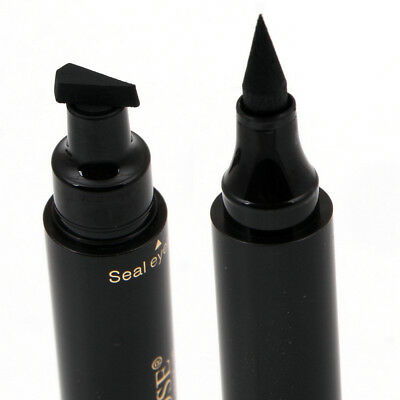 Winged Eyeliner Stamp Eye Liner Pencil Black Liquid Waterproof Makeup Cosmetic