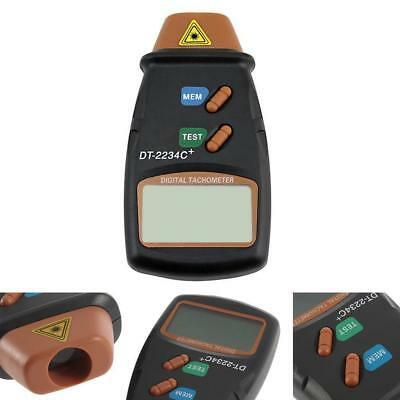Handheld LCD Digital Laser Photo Tachometer Non Contact RPM Tach Tester Meter BS