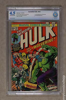 Incredible Hulk (1962-1999 1st Series) #181 CBCS 4.5
