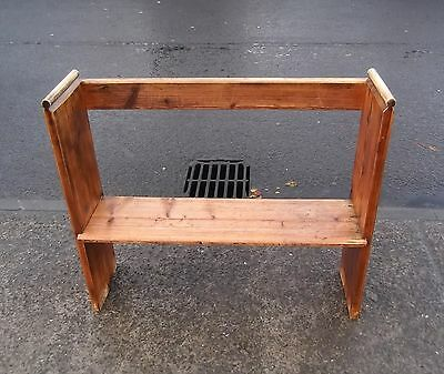 Small Reclaimed Pine Church Bench / Pew / Settle #1     Delivery Available