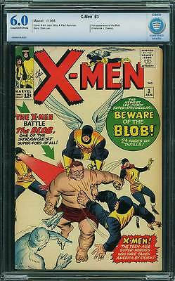 X-Men # 3  1st appearance of the Blob !  CBCS 6.0 scarce book !