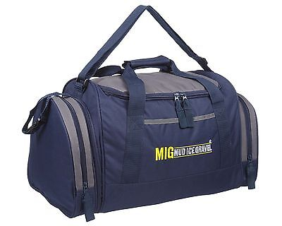 Mens & Boys Sports & Gym Holdall Bag SPORTS TRAVEL WORK SCHOOL - NEW 07M NAVY