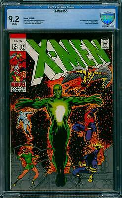 X-Men # 55  Alex Summers discovers his Mutant Powers !  CBCS 9.2 scarce book !
