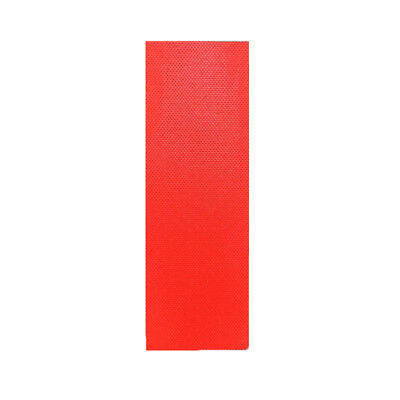 2pcs/Set High Quality G10 Knife Handle Material Scales Slabs 40*120*3mm Red AU
