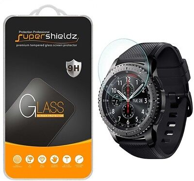 2 X Anti-Scratch Tempered Glass Screen Protector for Samsung Gear S3 Frontier