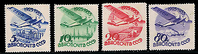 Rusia - Lot Of 4 Stamps - Hinged - Astrophilately