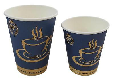 1.000 ROYAL Pappbecher hochwertige COFFEE TO GO BECHER Kaffeebecher Trinkbecher