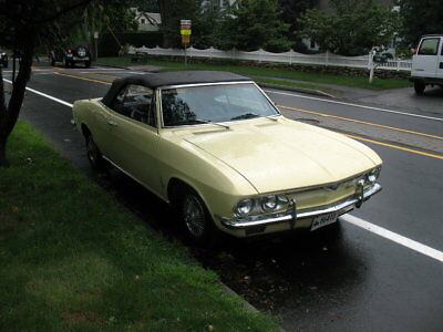 1968 Chevrolet Corvair  1968 Yellow Convertible Monza Project Great Value Great Car Rare