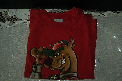 Boy Scout Official Scooby Doo Red Tee-Shirt--New without Tags Size Large-Child 7