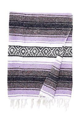 Authentic Mexican Falsa Blanket Mixed New