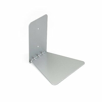 Umbra Conceal Shelf Large Silver Floating Invisible Book Rack Wall Mount