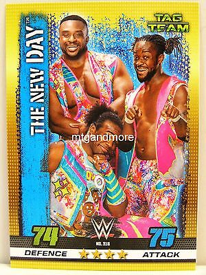 Slam Attax - #318 The New Day - 10th Edition