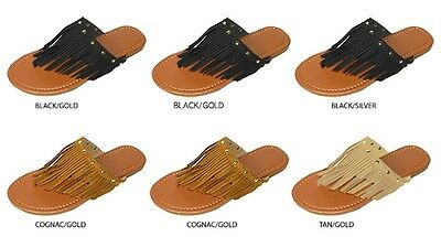 New Wholesale Lot 36 Pairs Ladies Fringe Thong Sandal