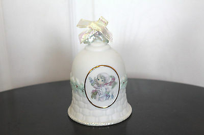 Precious Moments Enesco Bell The Future is In Our Hands 2000 749044