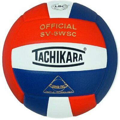Tachikara Sensi-Tec Composite High Performance Volleyball (Orange/White/Navy)