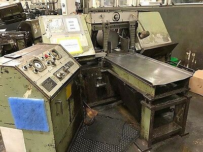 "15"" X 20"" MARVEL 'HEAVY DUTY' AUTOMATIC HORIZONTAL BAND SAW Model 15A"