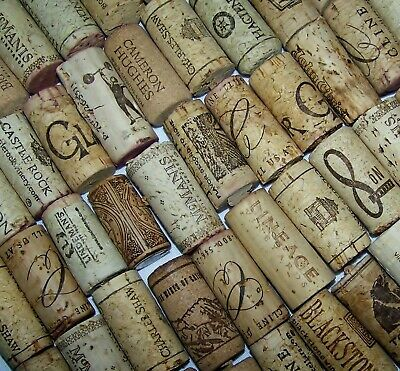 100 Wine Natural Recycled Used Corks Upcycled Arts /& Crafts Floats