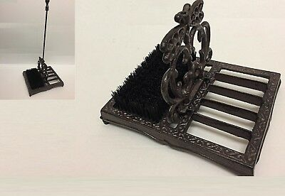 Heavy Cast Iron Boot Shoe Scraper Brush Outdoor Retro Wellington Boot Cleaner 78
