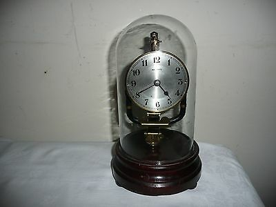Bulle Electric Clock in Glass Dome, Serial 200004 Circa 1935.Excellent Condition