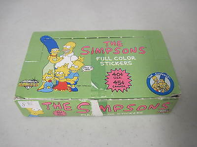 Box Of The Simpsons Full Color Stickers 50 Count Diamond