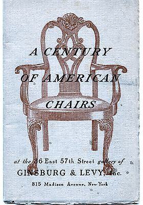 Lot Of Four Illustrated Chair & Cabinet Making Catalogs 1942 - 1971