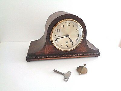 WESTMINSTER CHIME MANTLE CLOCK Mantel/ Carriage Clock VINTAGE